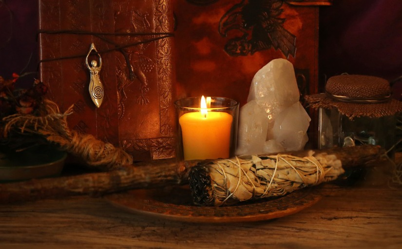 Creating an altar space